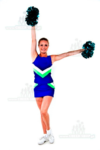 profesjonalny stroj dla cheerleaders