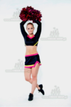 profesjonalny dwuczesciowy uniform dla cheerleaderek