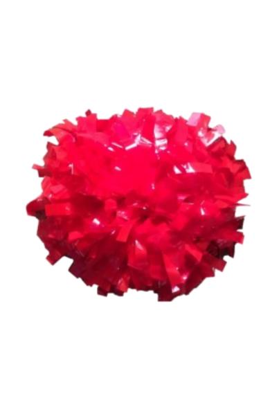 profesjonalny pompon cheerleaders w kolorze wet red