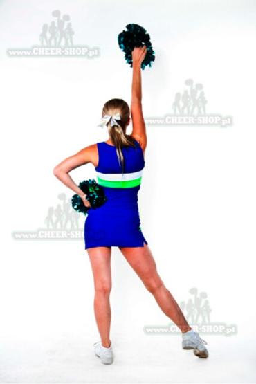 unifrom dwuczesciowy dla cheerleaderek