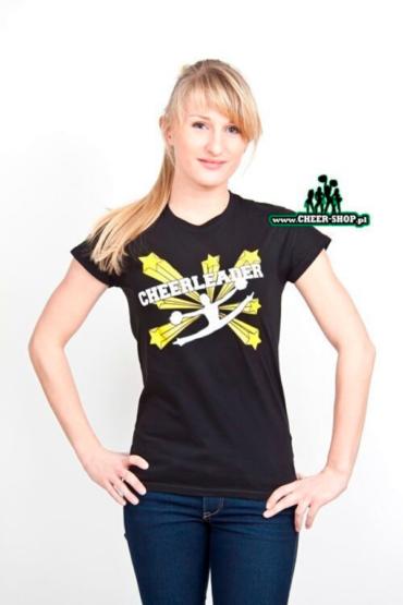 tshirt cheerleader