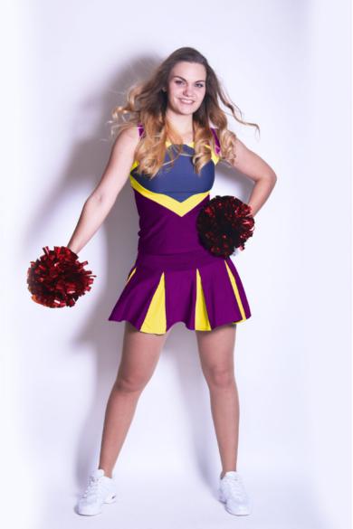 profesjonalny stroj dla cheerleaderek i zespolow tanecznych