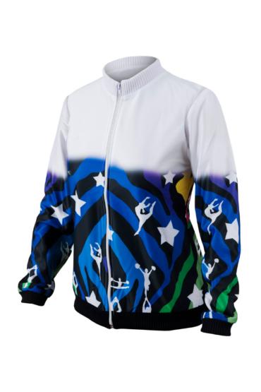 kolorowa bluza sportowa dla cheerleaderek