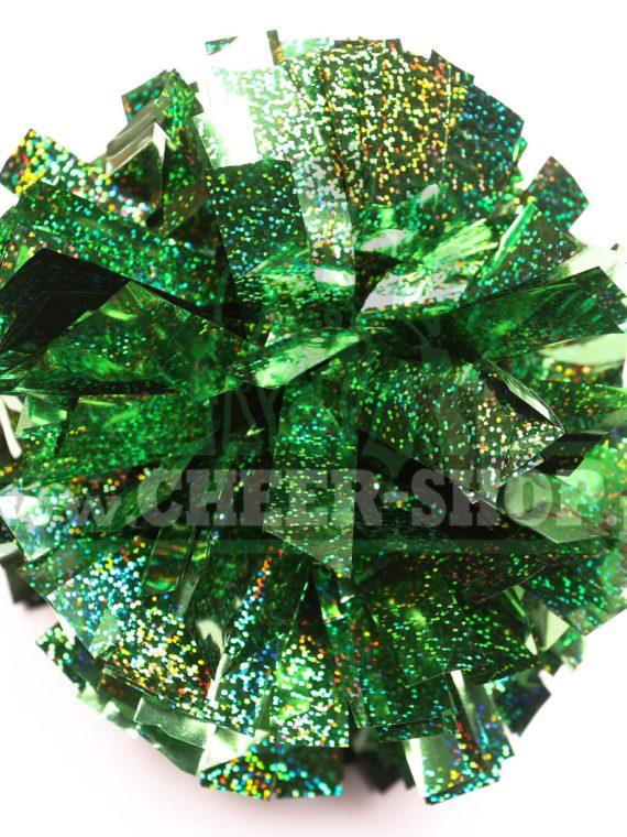 Pompon holo Kelly Green jasny zielony
