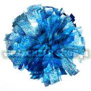 Pompon holo Sky blue jasny niebieski