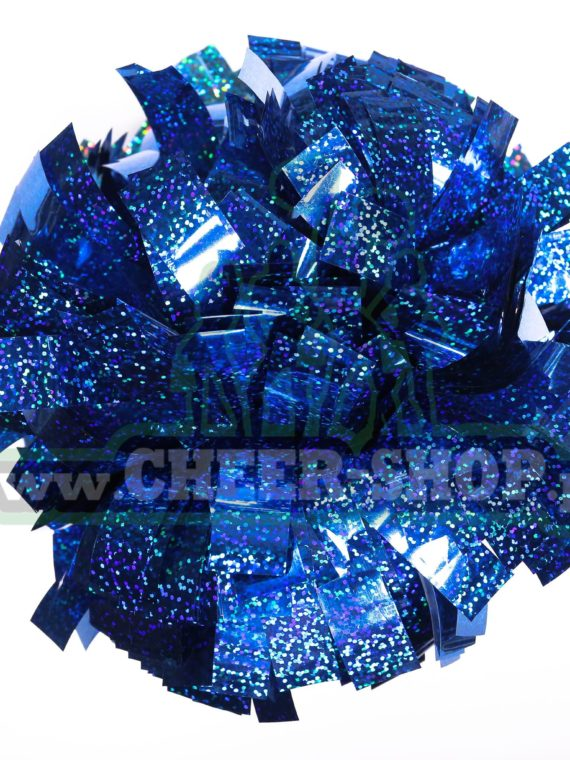 Pompon holo royal blue