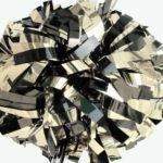 srebrny czarny