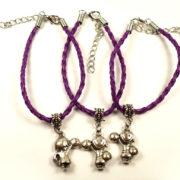 bransoletki z zawieszkami dla dziewczynek