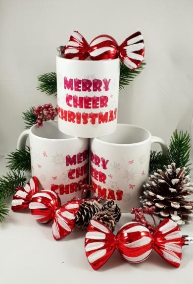 kubek merry cheer christmas