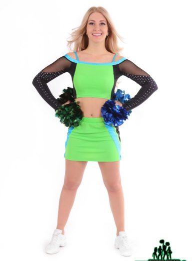profesjonalny strój dla zespołów cheerleaders i mażoretek