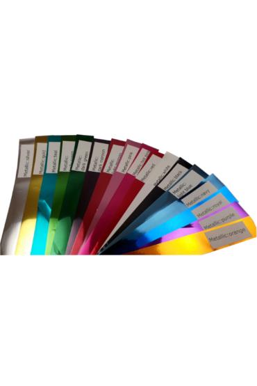 przykladwe kolory pomponow metallic