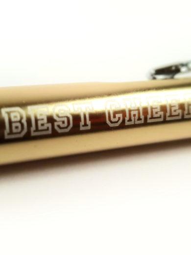 złoty długopis z grawerem the best cheer coach