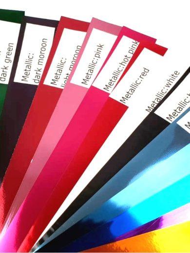 Wszystkie dostępne kolory profesjonalnych pomponów tanecznych dla mażoretek i cheerleaderek