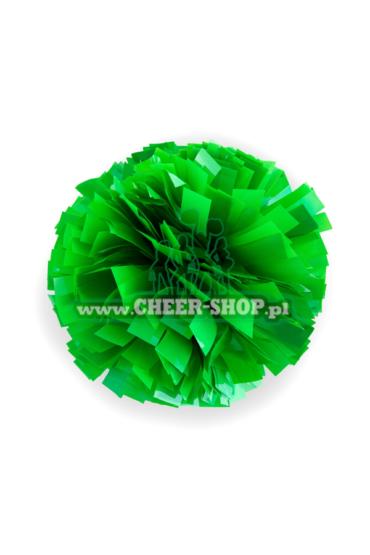 pompon fluo w kolorze zielonym