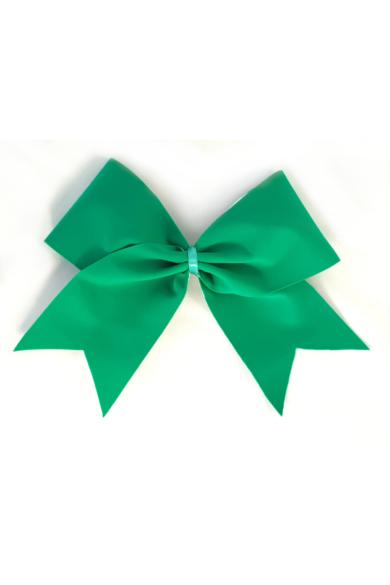 kokarda w zielonym matowym kolorze dla cheerleaderek